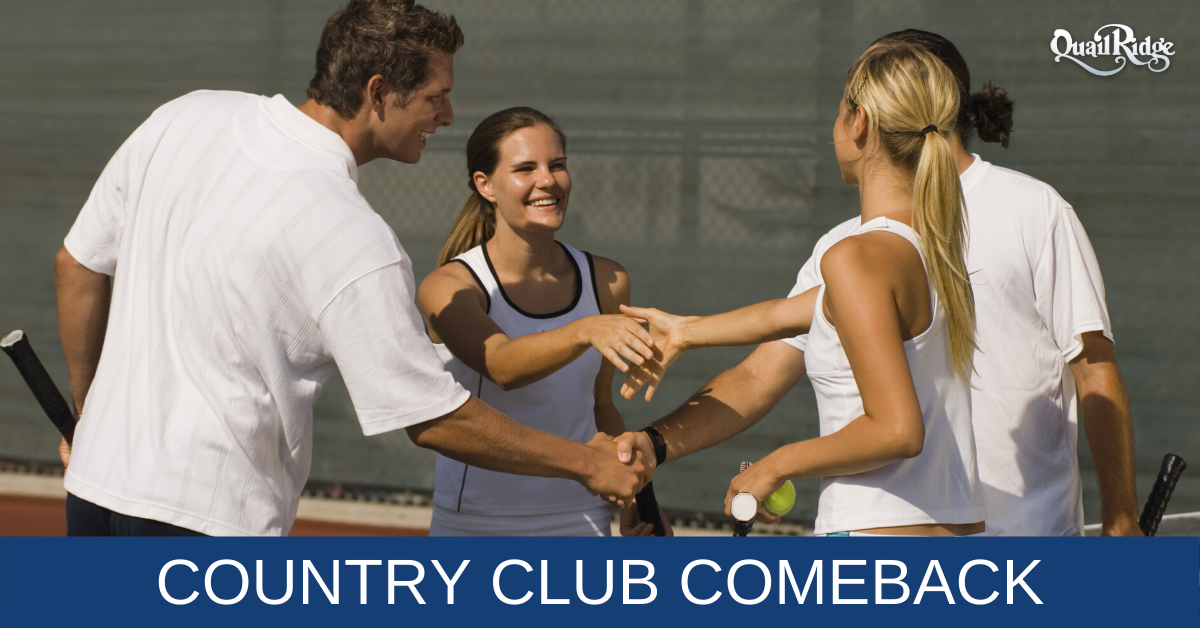 Country Clubs Attract Baby Boomers and Gen X
